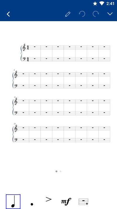 Notation Pad五线谱乐谱编辑器
