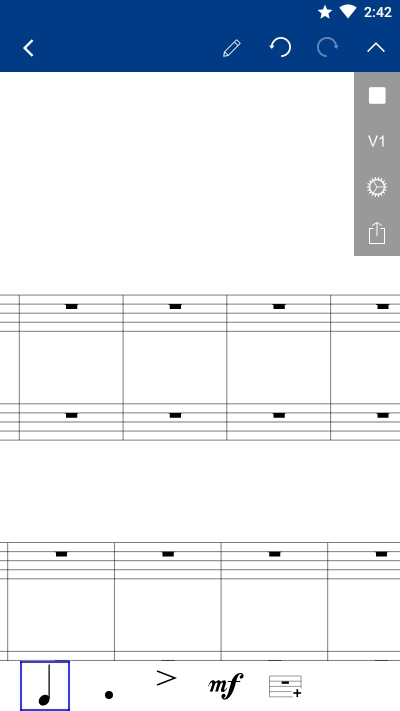 Notation Pad五线谱乐谱编辑器 v1.2.2 安卓版