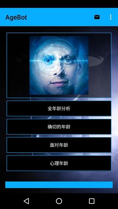 你几岁智能人脸测试 (AgeBot)