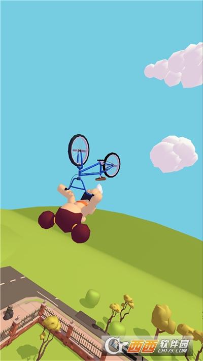 翻转自行车破解版