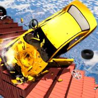 粉碎楼梯车游戏