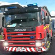 消防模拟卡车城市游戏