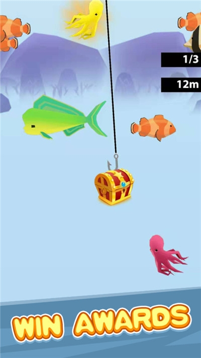 寻宝钓鱼大冒险游戏