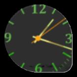 漂亮的夜�r�Nice clock