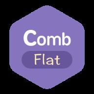 Comb_flat图标包