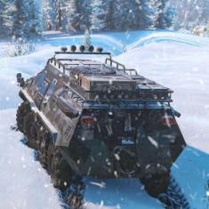 雪地奔驰v4.8升级档+DLC+未加密补丁