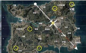 和平精英海岛地图2.0地洞在哪 海岛地图地洞分布位置一