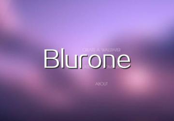 Blurone下载_Blurone透明壁纸制作软件下载