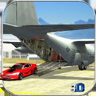 飞机汽车运输车3D