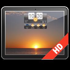 天气HD(天气预报动态桌面屏保)