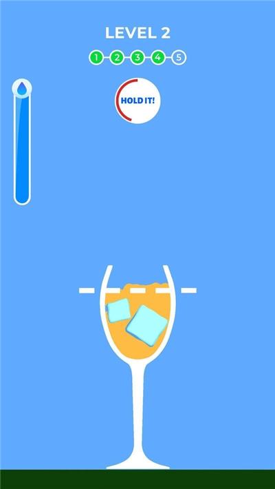 冰块玻璃杯游戏