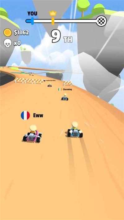 小型卡丁车游戏(Go Karts!)