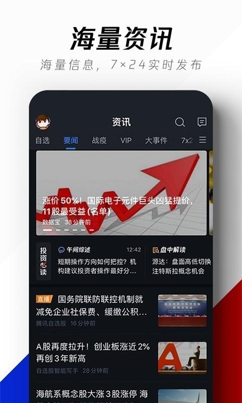 腾讯自选股最新谷歌版app v8.2.6官网安卓手机版