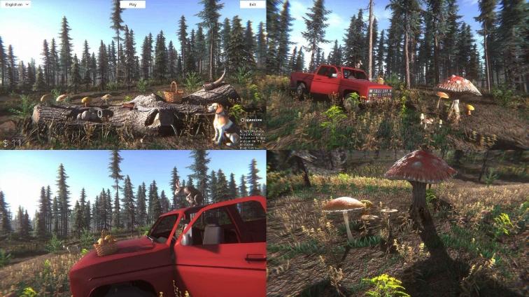蘑菇挑战模拟