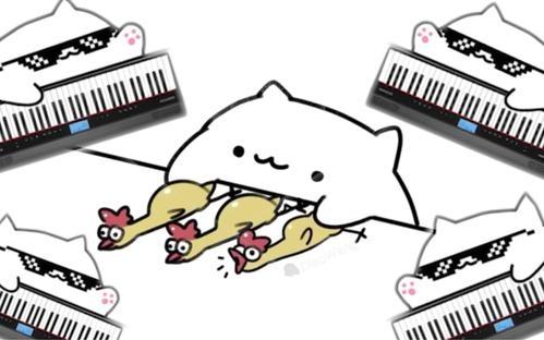 抖音同款 Bongo Cat Mver小猫代打