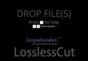 LosslessCut教程_LosslessCut合并_LosslessCut下载