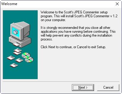 JPG图片注释工具Scotts Jpeg Commenter