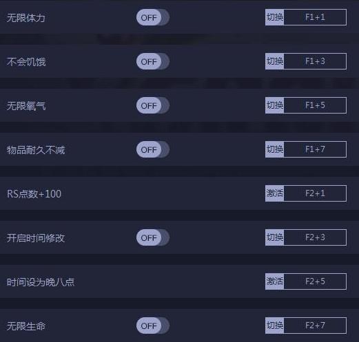 禁闭求生十三项修改器 v0.1.0.2168 peizhaochen版