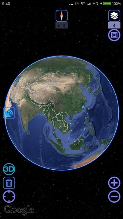2020谷歌卫星地图高清版 v10.38.2