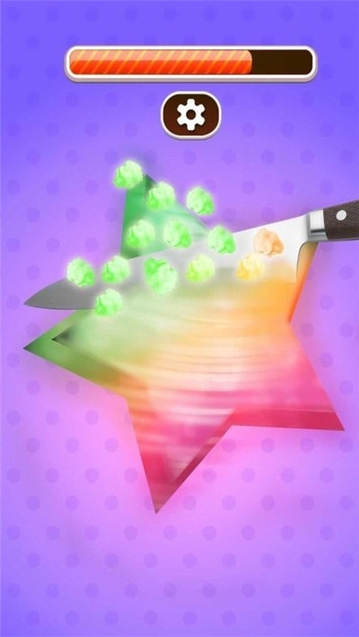 切割棉花糖游戏