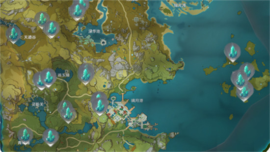 原神风龙废墟水晶矿位置详解 风龙废墟水晶矿在哪