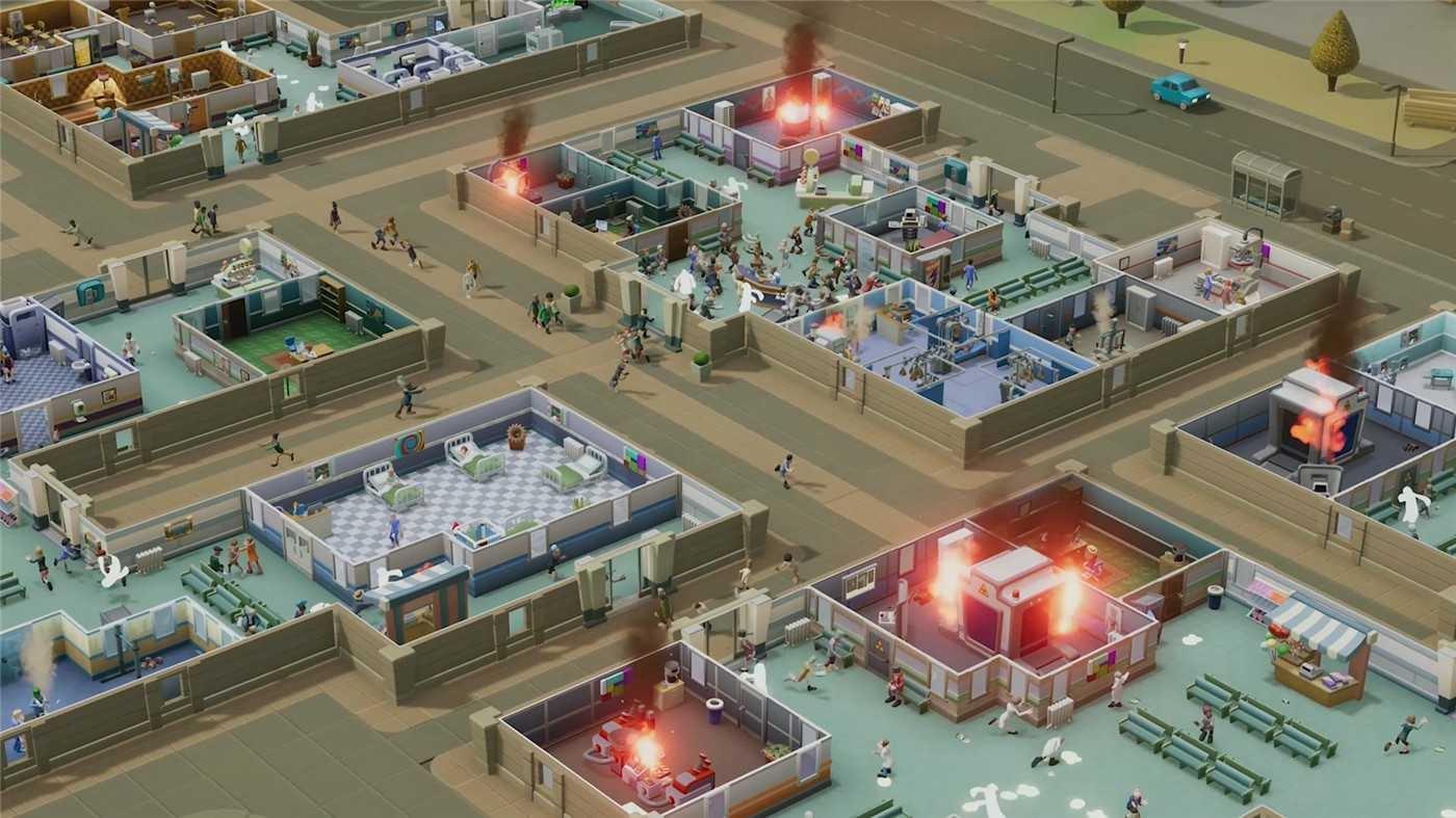 双点医院中文版游戏附DLCs+修改器 v1.21电脑版