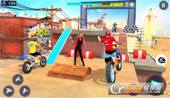 特技自行车高手游戏