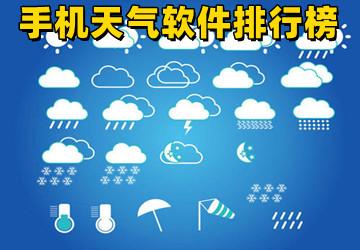手机天气软件排行榜