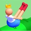 捷径弹跳3D女孩2人跑游戏