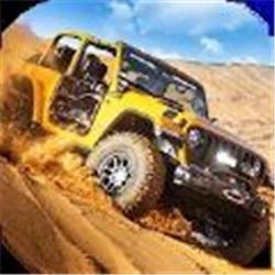 沙漠4x4吉普车