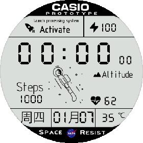 太空人表盘壁纸动态v1.2 PC版
