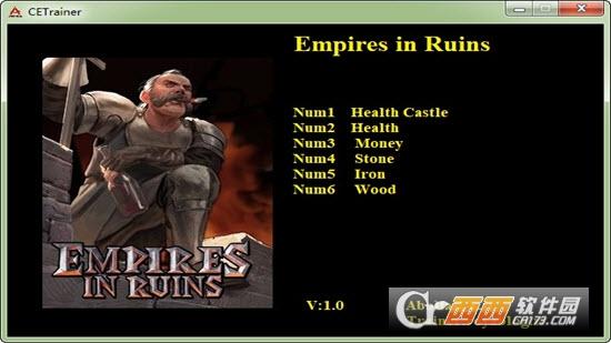 废墟帝国六项修改器 v1.0 Abolfazl版