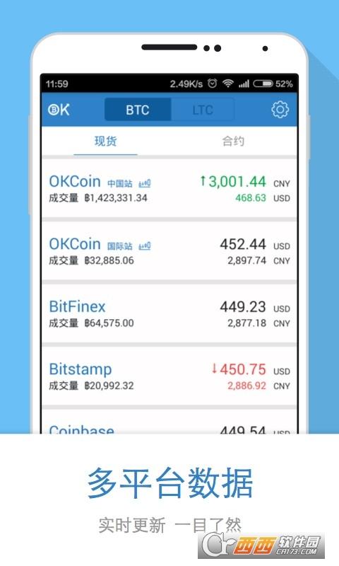OKCoin比特币交易app 2.5.2 安卓最新版