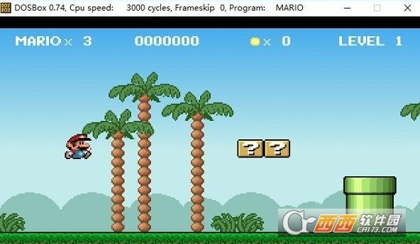 MARIO超级玛丽DOS怀旧游戏 PC绿色版