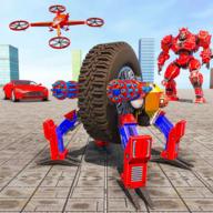 炫酷汽车机器人