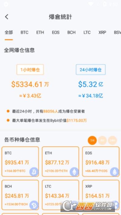 Orangex橙子交易所 v1.3.5 安卓版