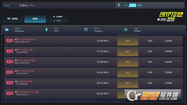 加密挖矿模拟器Crypto Mining Simulator 免安装硬盘版