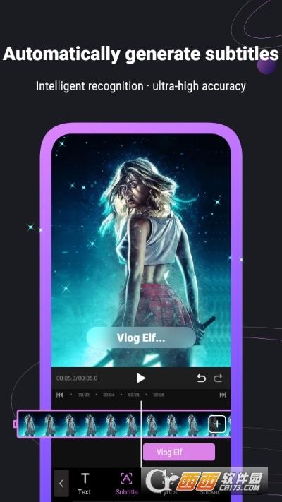 Vlog Elf视频编辑器 v2.5.0 安卓版
