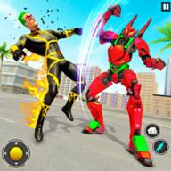 Robot Vs Superhero Game