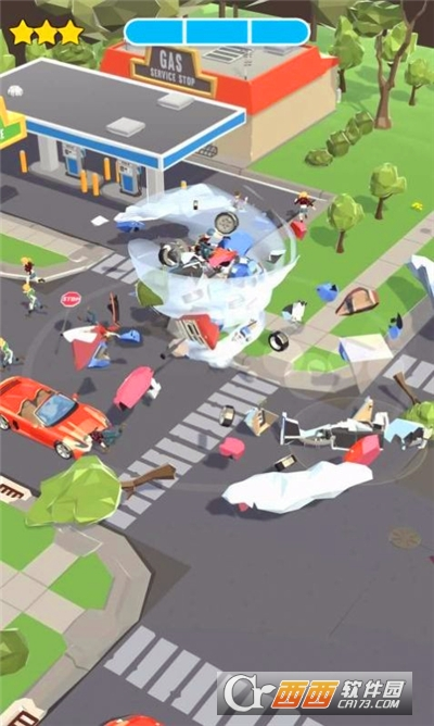 城市��卷�LMighty Tornado!