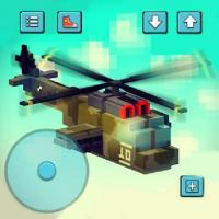 像素直升机模拟