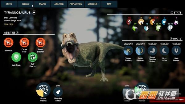史前恐龙幸存者Dinosaurs Prehistoric Survivors 免安装绿色版