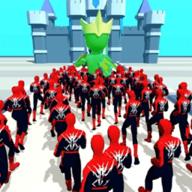 超级英雄人群推挤Spider Crowd Pusherv0.3