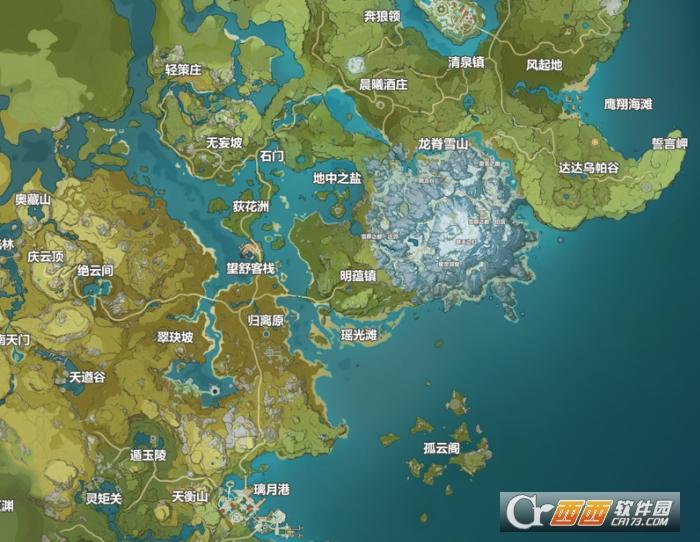 原神地图工具-全资源互动地图 20210909 最新版